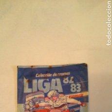 Cromos de Fútbol: SOBRE SIN ABRIR, LIGA DE FÚTBOL 82/83. Lote 195544726