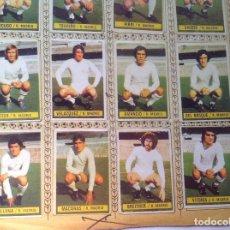 Cromos de Fútbol: CROMOS LOS TESOROS DEL REAL MADRID,HISTORIA DE LA LIGA,100 LÁMINA DIFERENTES. Lote 195785095