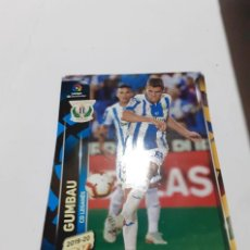 Cromos de Fútbol: TRADING CARD MEGACRACKS 2019/2020, EDITORIAL PANINI, JUGADOR GUMBAU (LEGANÉS). Lote 195791423
