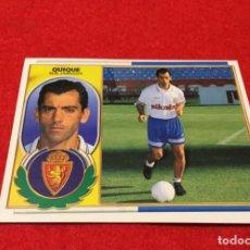 Cromos de Fútbol: CROMO COLOCA QUIQUE LIGA 1996 97 EXCELENTE ESTADO . Lote 195794325
