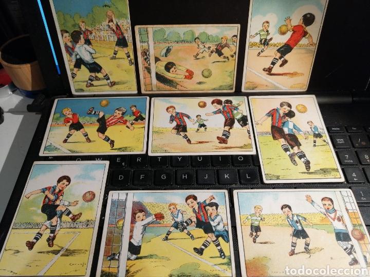 Cromos de Fútbol: Coleccion completa ENSEÑANZA DEL FOOT BALL futbol - Foto 2 - 195850272