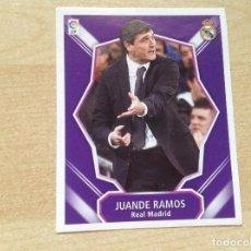 Cromos de Fútbol: MERCADO DE INVIERNO,ESTE 2008 2009 JUANDE RAMOS,REAL MADRID, 08/09. Lote 195891830