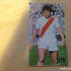 Cromos de Fútbol: LIGA 78/79 DE LA REVISTA DON BALÓN,1978 1979, 179 ALVARITO, RAYO VALLECANO. Lote 195895612