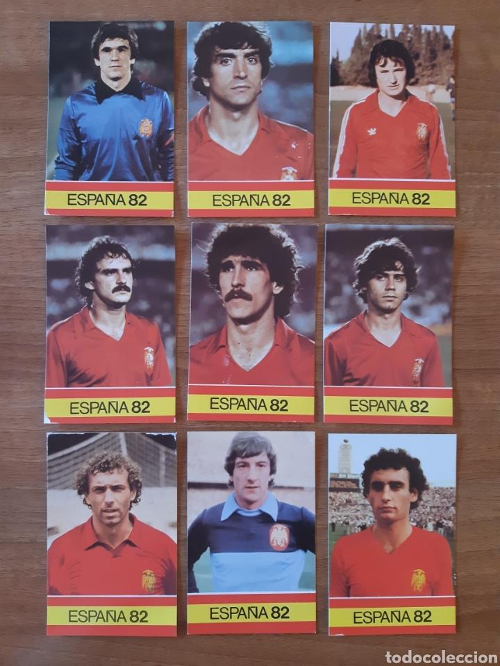 Cromos de Fútbol: Lote 26 cromos - fichas diferentes Mundial España 82. Ed. PLADEMER - Foto 2 - 196325696