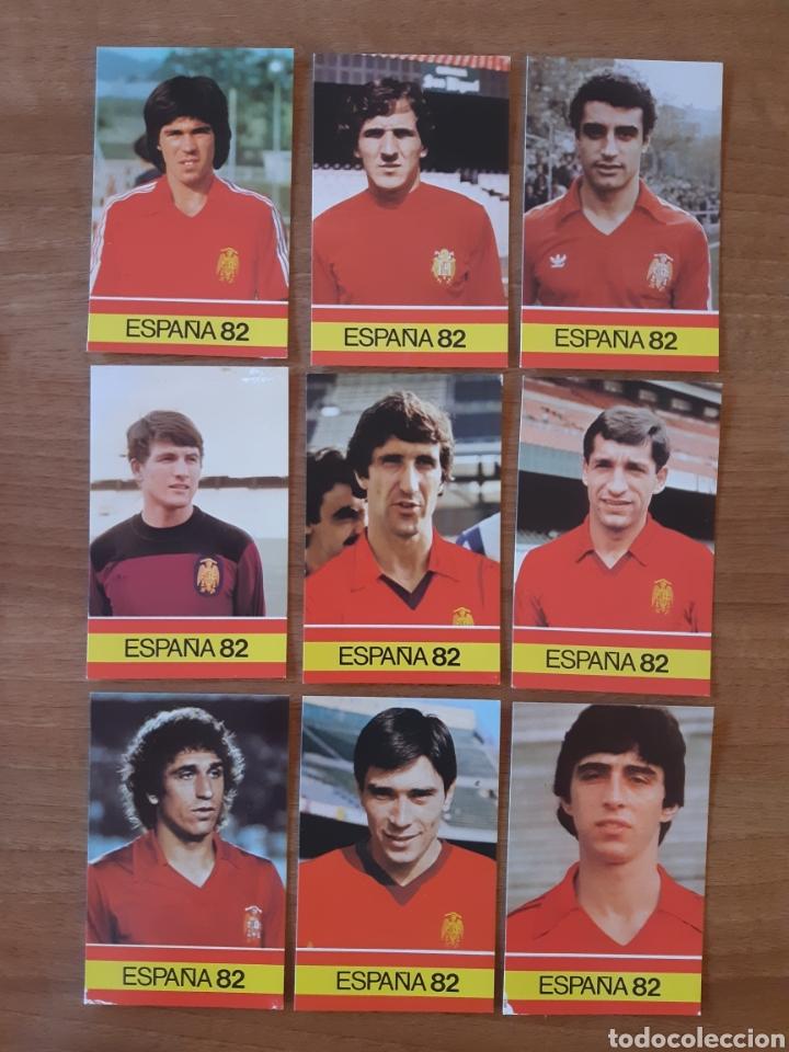 Cromos de Fútbol: Lote 26 cromos - fichas diferentes Mundial España 82. Ed. PLADEMER - Foto 4 - 196325696