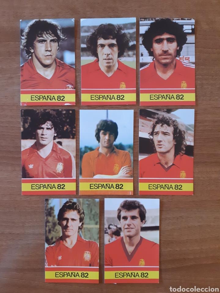 Cromos de Fútbol: Lote 26 cromos - fichas diferentes Mundial España 82. Ed. PLADEMER - Foto 6 - 196325696