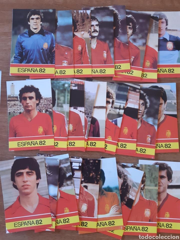 LOTE 26 CROMOS - FICHAS DIFERENTES MUNDIAL ESPAÑA 82. ED. PLADEMER (Coleccionismo Deportivo - Álbumes y Cromos de Deportes - Cromos de Fútbol)