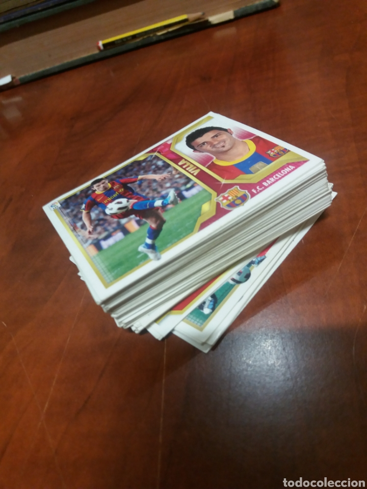 Cromos de Fútbol: Liga 2010 2011 sobre 100 cromos. - Foto 2 - 196679392