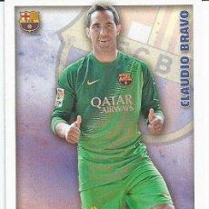 Cromos de Fútbol: LAS FICHAS DE LA LIGA 2014-15 AT MADRID Nº 30 CLAUDIO BRAVO. Lote 196814936