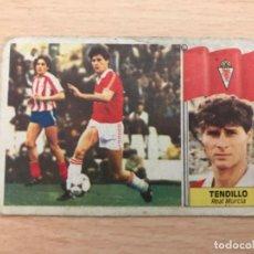 Cromos de Fútbol: CROMO TENDILLO. Lote 197115497