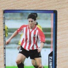 Cromos de Fútbol: BAJA 185 ADURITZ ATHLETIC BILBAO CROMOS ALBUM MUNDICROMO FICHAS LIGA FUTBOL 2003-2004 03-04. Lote 197118600