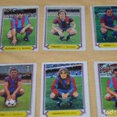 Cromos de Fútbol: HOJA DOBLE CARA / BARCELONA (2 PINTADOS) -- ALMERÍA / LIGA 80 – 81 / 1980 - 1981 / 80 81 - EDIC ESTE. Lote 197194951