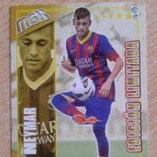 Cromos de Fútbol: MGK EDICION LIMITADA 505 NEYMAR MEGA FICHAJES F.C. BARCELONA CROMOS MEGACRACKS 2013 20 EL DE LA FOTO. Lote 197200717