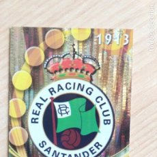 Cromos de Fútbol: RACING DE SANTANDER - 406 - ESCUDO SECURITY - OFFICIAL QUIZ GAME - 2010-2011 (10/11) - MUNDICROMO. Lote 197227113