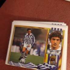 Cromos de Futebol: GURUCETA REAL SOCIEDAD ESTE 95 96 1995 1996 SIN PEGAR ESTE. Lote 197244317