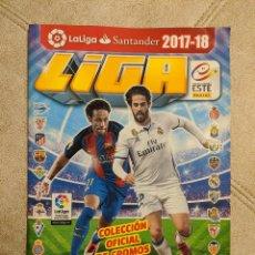 Cromos de Fútbol: ALBUM FUTBOL LIGA 2017 2018 COLECCIONES ESTE PANINI MUY BUEN ESTADO. Lote 197280882