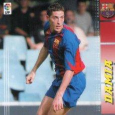 Cromos de Fútbol: DAMIÀ (F.C. BARCELONA) - Nº 58 BIS - NUEVA FICHA - MEGACRACKS 2004-2005 - PANINI - MEGA CRACKS.. Lote 208285077