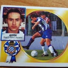 Cromos de Futebol: IOTOV DEL ESPAÑOL ESPANYOL ALBUM ESTE LIGA 1994 - 1995 ( 94 - 95 ). Lote 222386138