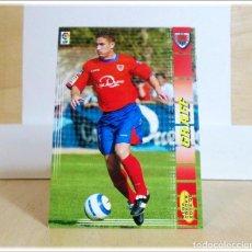Cartes à collectionner de Football: MEGACRACKS 2004 2005 04 05 PANINI GRAFF Nº 225 BIS FICHAJE (NUMANCIA) CROMO LIGA FÚTBOL MGK. Lote 197723300