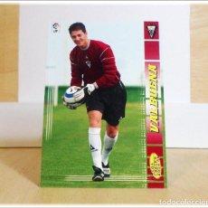 Cartes à collectionner de Football: MEGACRACKS 2004 2005 04 05 PANINI VALBUENA Nº 458 FICHAJE ALBACETE CROMO LIGA FÚTBOL MGK. Lote 197737118