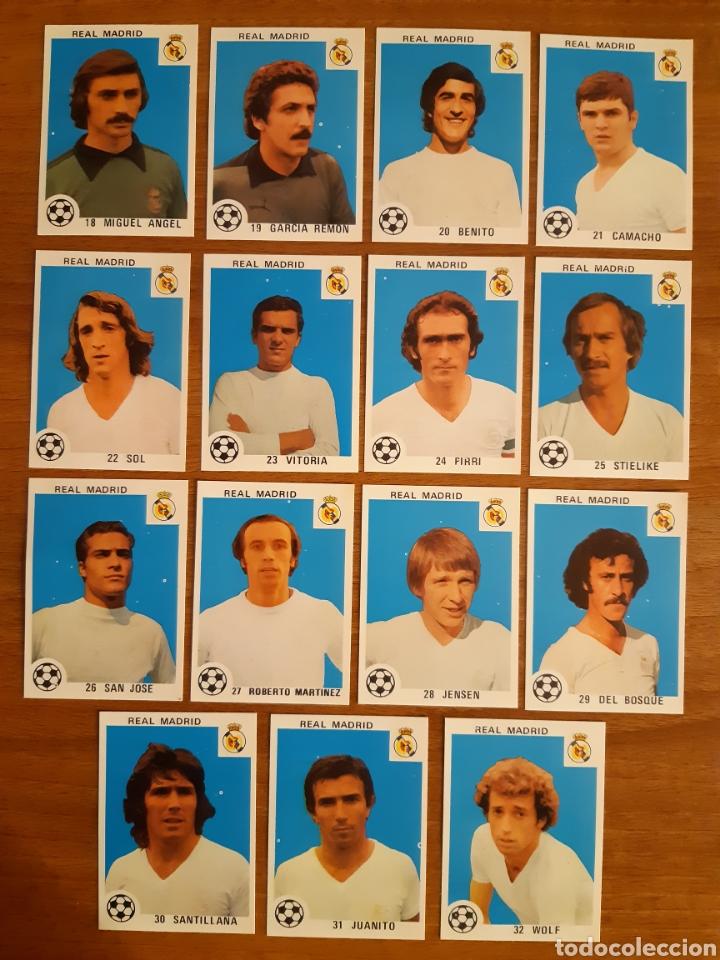 LOTE 15 CROMOS DIFERENTES REAL MADRID ED. MAGA 78-79. NUNCA PEGADOS (Coleccionismo Deportivo - Álbumes y Cromos de Deportes - Cromos de Fútbol)