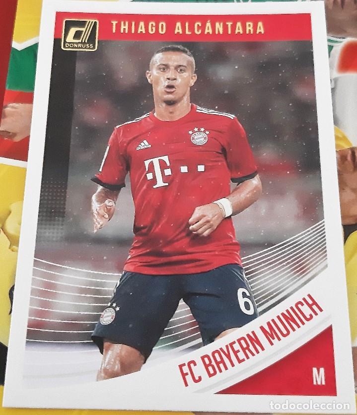 CARD PANINI DONRUSS 2018-19 THIAGO ALCANTARA BAYERN MUNICH (Coleccionismo Deportivo - Álbumes y Cromos de Deportes - Cromos de Fútbol)