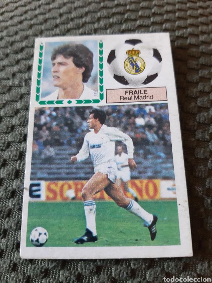 EDICIONES ESTE 83 84 FRAILE REAL MADRID (Coleccionismo Deportivo - Álbumes y Cromos de Deportes - Cromos de Fútbol)