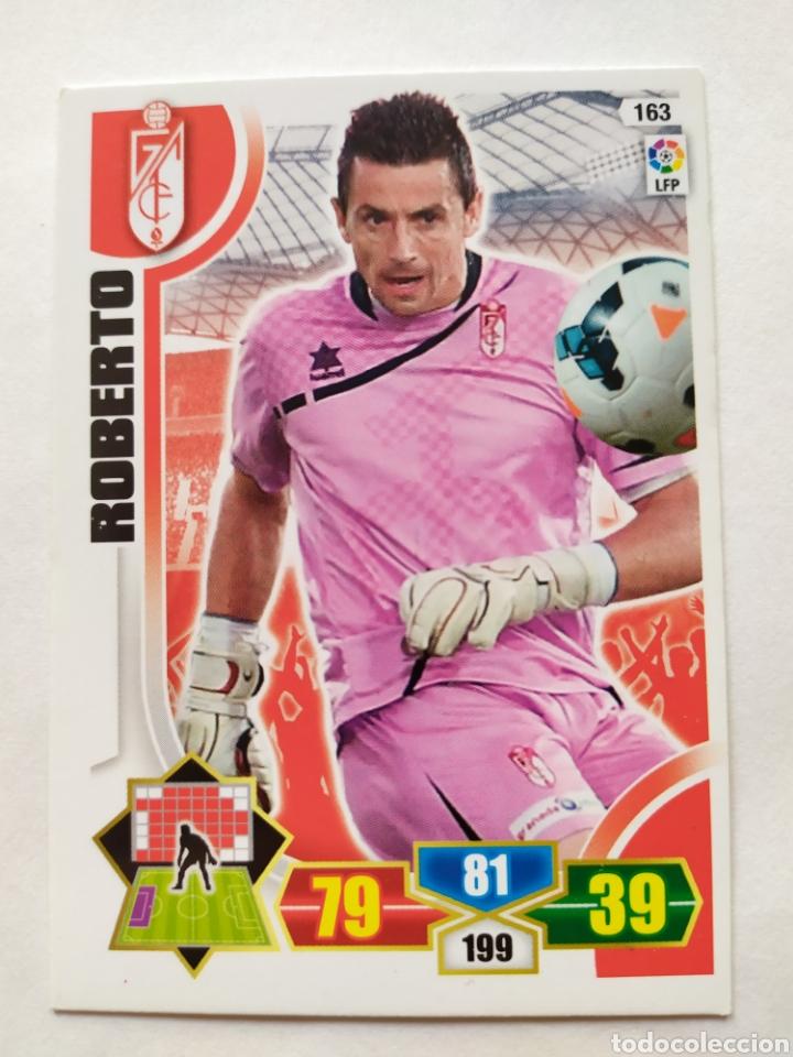 ADRENALYN 2013 2014 PANINI ROBERTO N° 163 GRANADA (Coleccionismo Deportivo - Álbumes y Cromos de Deportes - Cromos de Fútbol)
