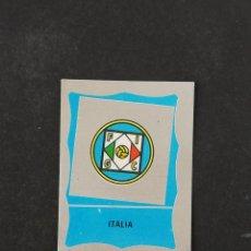 Figurine di Calcio: #M86 0 ESCUDO ITALIA MUNDIAL MEXICO 1986 EDICIONES REYAUCA SIN PEGAR NUNCA PEGADO. Lote 198345093