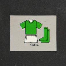 Figurine di Calcio: #M86 0 EQUIPACION ARGELIA MUNDIAL MEXICO 1986 EDICIONES REYAUCA SIN PEGAR NUNCA PEGADO. Lote 198345398