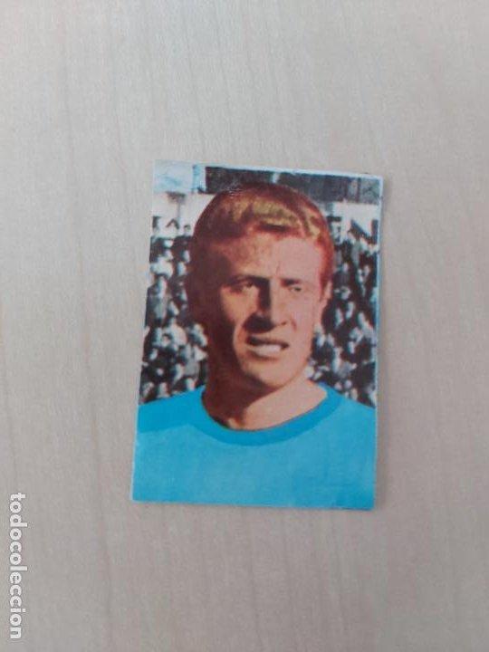 SUAREZ - CELTA DE VIGO - CROMO RECUPERADO ALBUM FÚTBOL 1ª Y 2ª DIVISIÓN 1968 69 FHER - 68 69 (Coleccionismo Deportivo - Álbumes y Cromos de Deportes - Cromos de Fútbol)