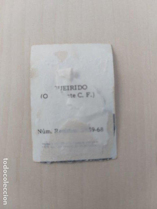 Cromos de Fútbol: FIGUEIRIDO - ONTENIENTE - CROMO RECUPERADO ALBUM FÚTBOL 1ª Y 2ª DIVISIÓN 1968 69 FHER - 68 69 - Foto 2 - 198415492