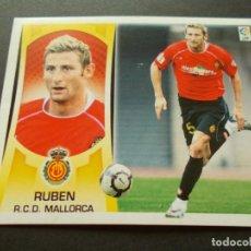 Cromos de Fútbol: ESTE 09-10 U.F Nº40 RUBEN MALLORCA NUEVO SIN PEGAR. Lote 198557813