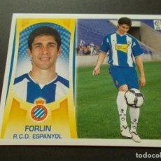 Cromos de Fútbol: ESTE 09-10 U.F Nº43 FORLIN ESPAÑOL NUEVO SIN PEGAR. Lote 198558172