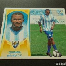 Cromos de Fútbol: ESTE 09-10 U.F Nº45 OBINNA MALAGA NUEVO SIN PEGAR. Lote 198558378