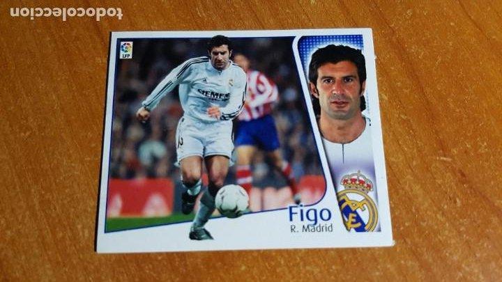 FIGO. REAL MADRID. SIN PEGAR. EDICIONES ESTE 2004 05. 04 05 (Coleccionismo Deportivo - Álbumes y Cromos de Deportes - Cromos de Fútbol)