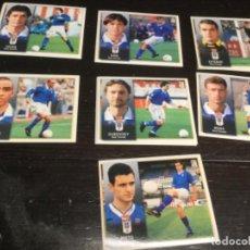Cromos de Fútbol: 8 CROMOS LIGA 98/99 ESTE - REAL OVIEDO. Lote 198668423