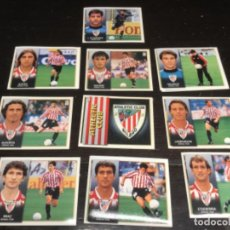 Cromos de Fútbol: 10 CROMOS LIGA 98/99 ESTE - ATHLETIC CLUB DE BILBAO . Lote 198668763