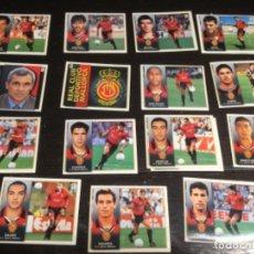 Cromos de Fútbol: 15 CROMOS LIGA 98/99 ESTE - REAL CLUB DEPORTIVO MALLORCA . Lote 198668878