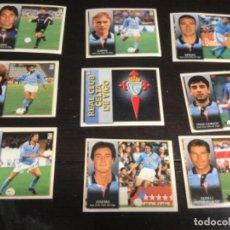 Cromos de Fútbol: 9 CROMOS LIGA 98/99 ESTE - REAL CLUB CELTA DE VIGO . Lote 198668946