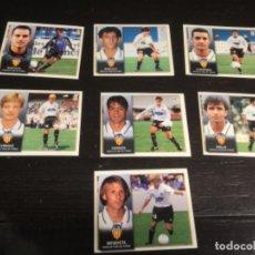 Cromos de Fútbol: 7 CROMOS LIGA 98/99 ESTE - VALENCIA CLUB DE FÚTBOL . Lote 198669053