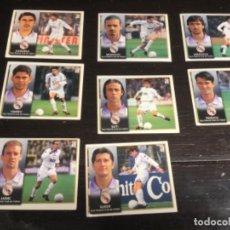Cromos de Fútbol: 8 CROMOS LIGA 98/99 ESTE - REAL MADRID . Lote 198669236