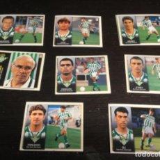 Cromos de Fútbol: 8 CROMOS LIGA 98/99 ESTE - REAL BETIS BALOMPIE . Lote 198669257