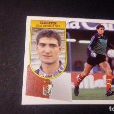 Cromos de Fútbol: ELDUAYEN BURGOS FORMATO CARTON LEER EDICIONES ESTE LIGA TEMPORADA 91 92 1991 1992. Lote 198669740