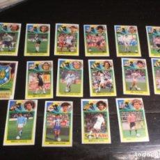 Cromos de Fútbol: 16 CROMOS LIGA 1993/94 ESTE - VARIOS EQUIPOS SON DE CARTÓN RECUPERADOS . Lote 198669748
