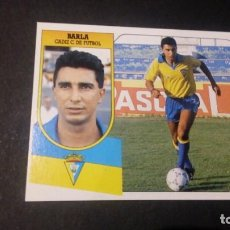 Cromos de Fútbol: BARLA CADIZ FORMATO CARTON LEER EDICIONES ESTE LIGA TEMPORADA 91 92 1991 1992. Lote 198669916