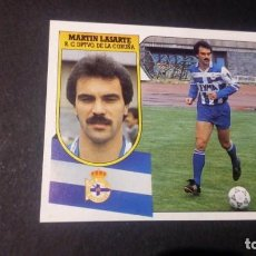 Cromos de Fútbol: LASARTE DEPORTIVO CORUÑA FORMATO CARTON LEER EDICIONES ESTE LIGA TEMPORADA 91 92 1991 1992. Lote 198669930