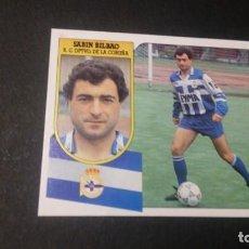 Cromos de Fútbol: SABIN BILBAO DEPORTIVO DE CORUÑA FORMATO CARTON LEER EDICIONES ESTE LIGA TEMPORADA 91 92 1991 1992. Lote 198669946