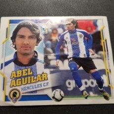 Cromos de Fútbol: ABEL AGUILAR COLOCA DEL HERCULES ALBUM ESTE LIGA 2010 - 2011 ( 10 - 11 ). Lote 198806507