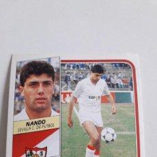Cromos de Fútbol: EDICIONES ESTE NANDO SEVILLA NUEVO SIN PEGAR.89 90 1989 1990. Lote 199209990